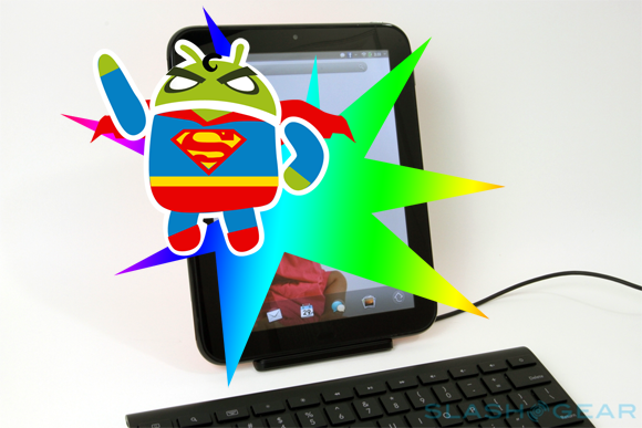 HP TouchPad dual-booting with Android, ready for download now