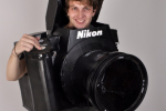 Nikon D3 camera costume really works