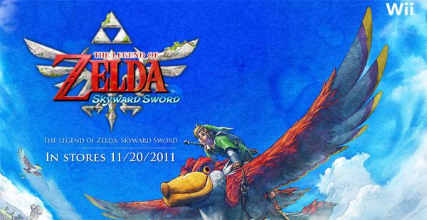 Nintendo offers more details from Legend of Zelda: Skyward Sword for Wii