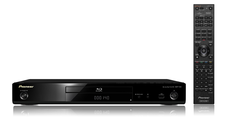 Pioneer BDP-140 3D Blu-ray Player now available