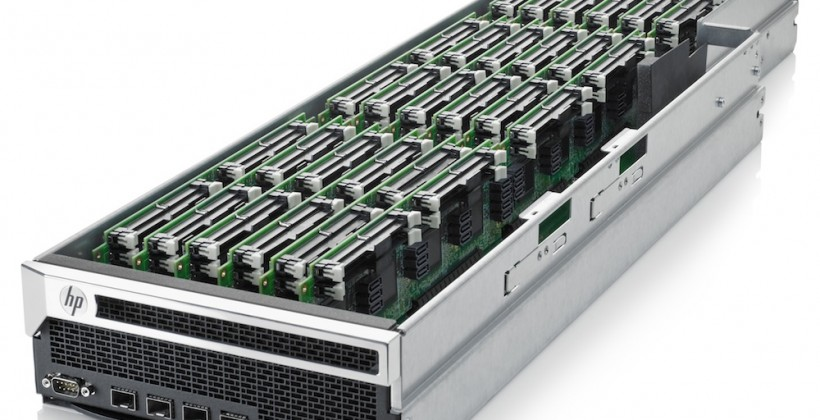 HP Project Moonshot reveals low-power Redstone ARM servers