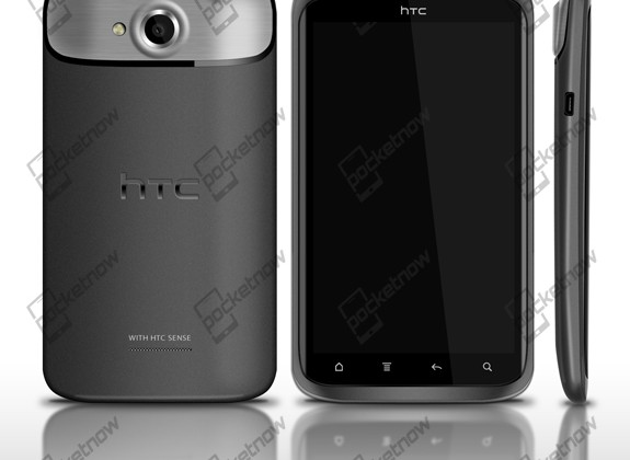 HTC Edge images leaked, quad-core smartphone in the flesh