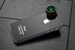 OLLOCLIP gives your iPhone 4S an enhanced lens