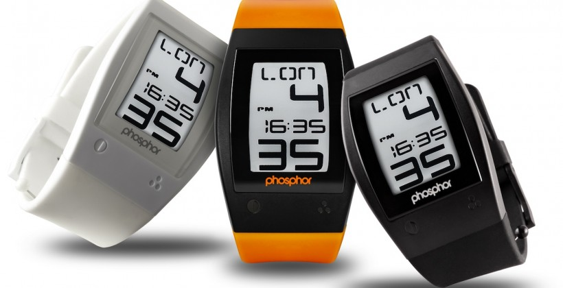 World Time Sport E Ink digital watch introduced by Phosphor