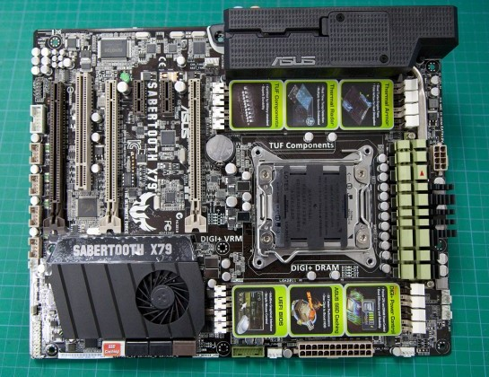 ASUS Sabertooth X79 motherboard rundown