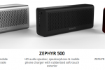 Spar Zephyr Bluetooth speaker takes your calls, charges your device