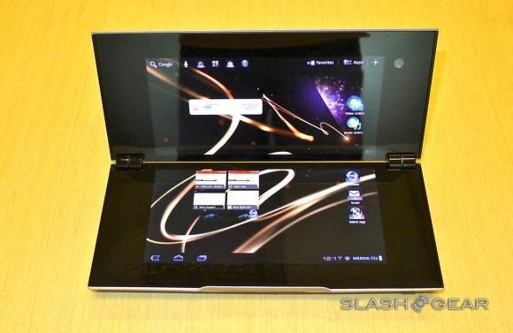 Sony Tablet P hits UK and isn't cheap