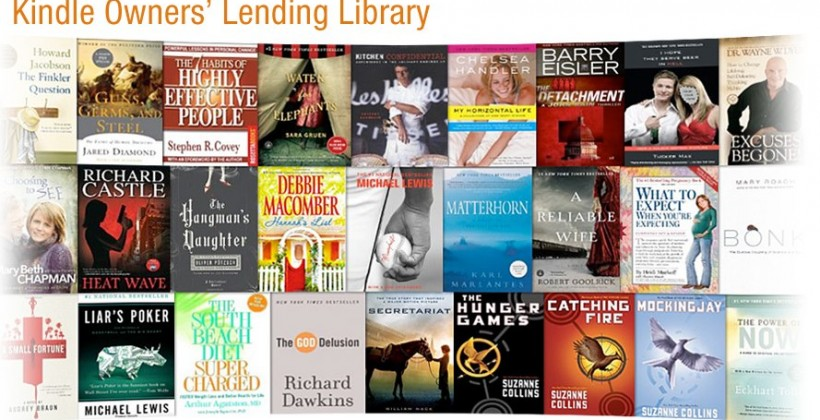 Amazon Kindle Owner's Lending Library offers 5,000 borrowable books