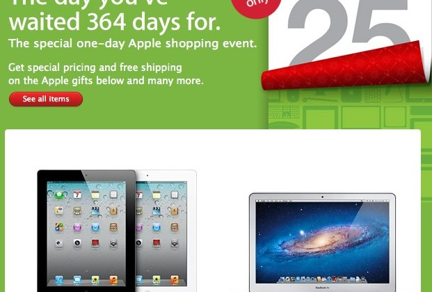 Apple Black Friday sales open