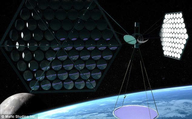 Solar satellite plan blasts fossil fuels with eco-laser