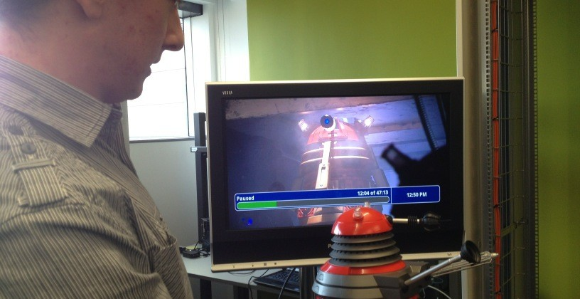 BBC WiFi Dalek demos Internet of Things TV potential