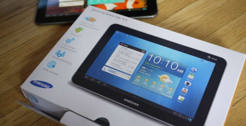 Samsung Galaxy Tab 8.9 AT&T LTE Hands-on and Unboxing