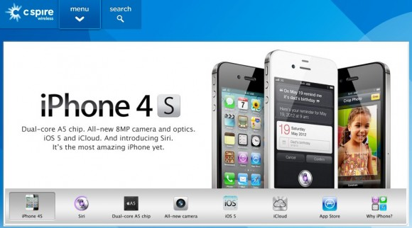 C Spire Wireless to offer iPhone 4S on November 11