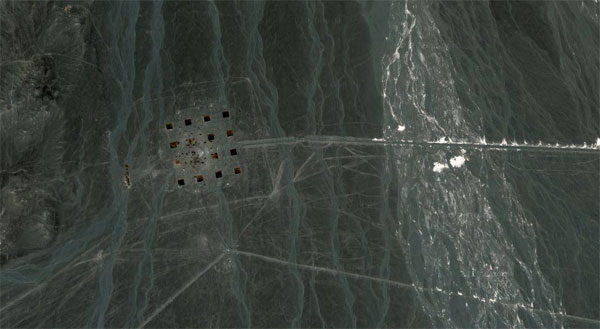 Massive networks of stripes appear in Chinese Desert
