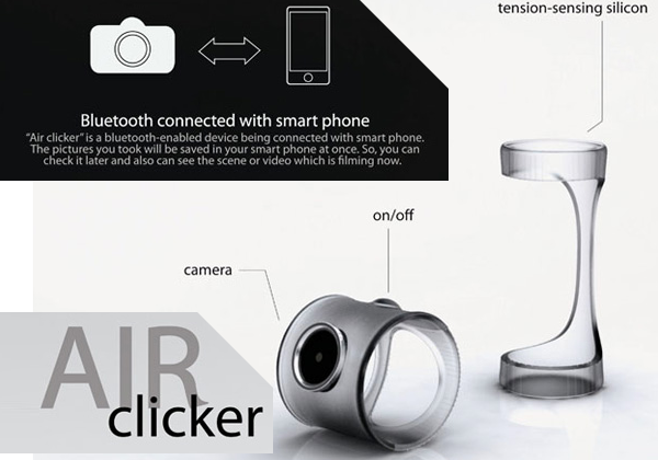 Air Clicker concept gives your thumb the lens