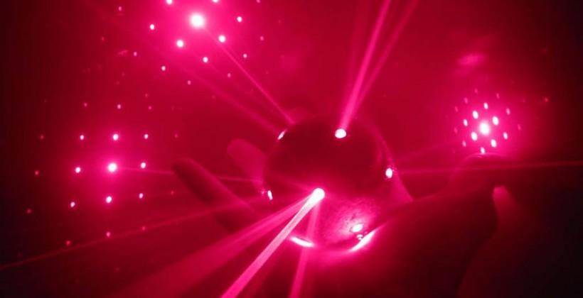 DIY Laser Ball is 21st century human cat toy