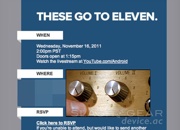 Google Music Spinal Tap event announced