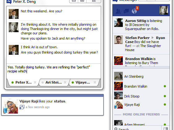 Facebook testing Windows desktop client for chat and ticker feed
