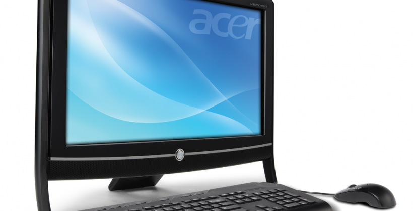 Acer reveals Veriton Z2620G and Veriton Z2610G slim all-in-one PCs