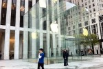Fifth Ave Apple Store's fancy new cube unveiled