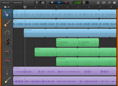 GarageBand for iPhone and iPod touch released