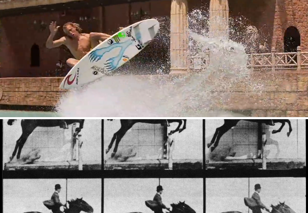 Bullet Time: a short history between 1877 and 3D surfing