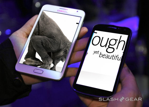 Galaxy Nexus uses fortified glass, not Corning Gorilla Glass