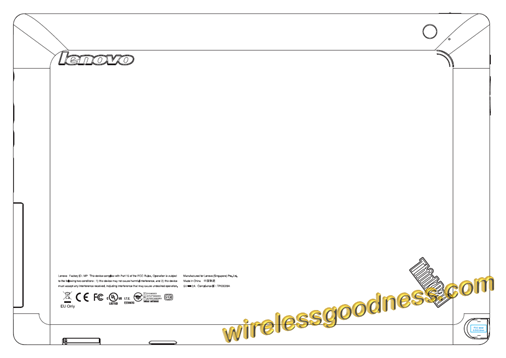 Lenovo ThinkPad Tablet with AT&T, T-Mobile, and Verizon bands hits the FCC