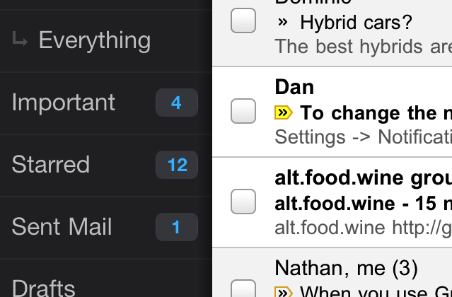 Gmail app for iPhone, iPad and iPod touch released