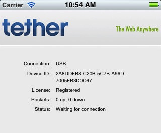 iTether iPhone covert tethering tool hits App Store [Update: Pulled!]