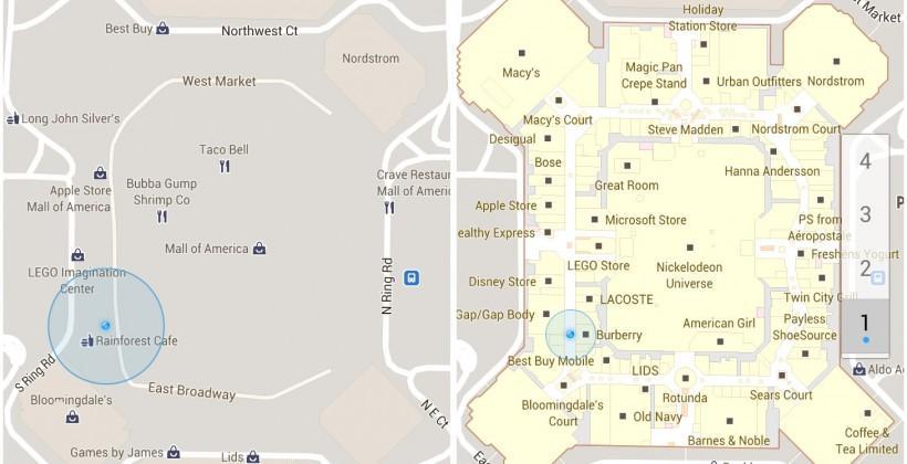 Google Maps goes indoors