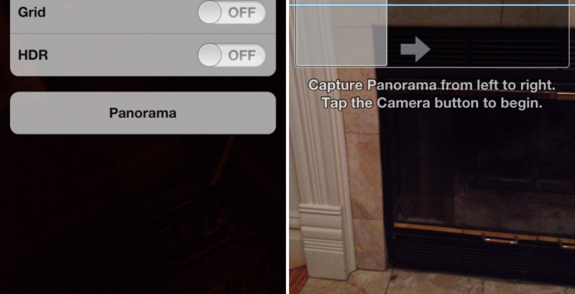 iOS 5's hidden Panorama mode uncovered