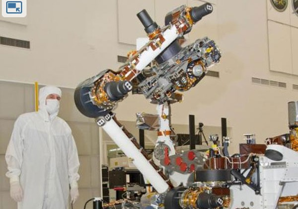NASA's Curiosity rover sits on launch pad waiting to blast off to Mars