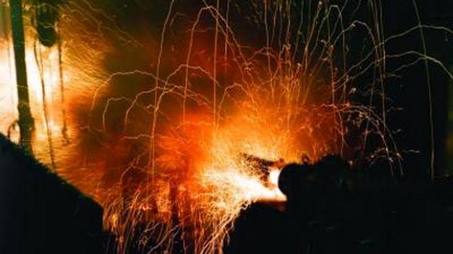U.S. Navy Electromagnetic Railgun fires milestone 1000th shot