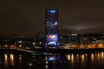 Nokia lights up London for Lumia 800 promo