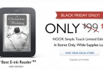 $79 NOOK Touch goes white for Black Friday