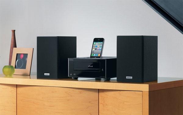 Onkyo debuts CS-345 iPhone/iPod audio system