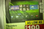 Blackberry Playbook to go on sale for holidays