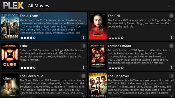Plex app hits Google TV
