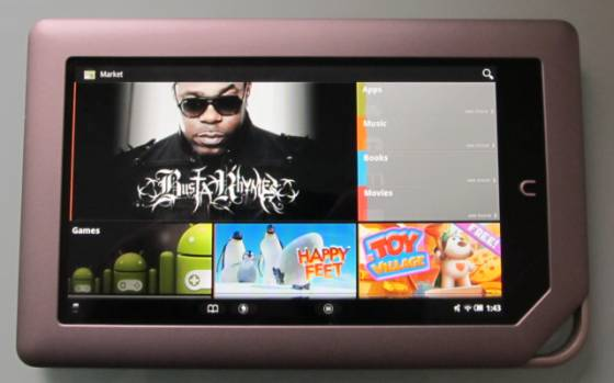 NOOK Tablet gets unofficial Android Market