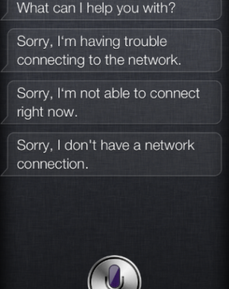 Siri returns but Apple silent on assistant outage