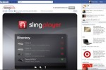 Slingplayer for Facebook launches
