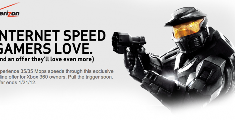 Verizon FiOS Triple Play offer dishes free Halo: Anniversary and Xbox LIVE Gold