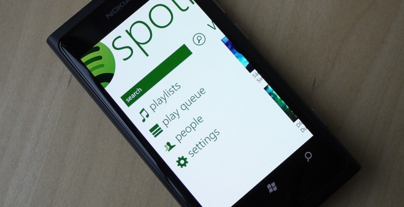 Spotify Windows Phone 7 app hands-on [Video]