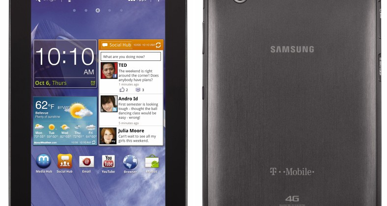 T-Mobile Samsung Galaxy Tab 7.0 Plus with HSPA+ drops Nov 16
