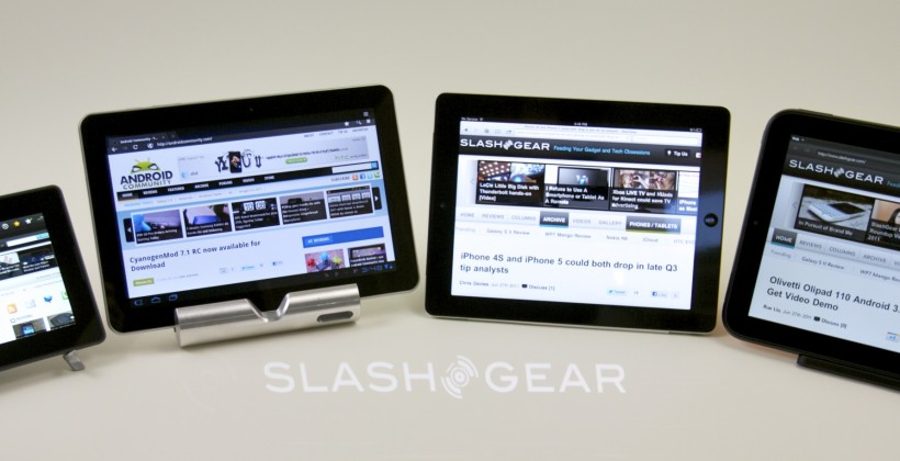 HP $99 TouchPad edges out Android in non-iPad tablet sales