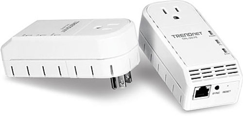 Trendnet TPL-307E 200Mbps powerline networking adapter with extra plug debuts
