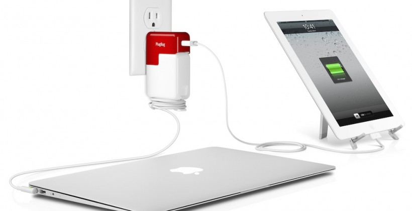 PlugBug piggybacks iPad power on your MacBook brick