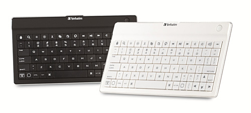 Verbatim debuts Ultra-Slim Bluetooth keyboards for iPads, iPhone and Android tablets