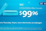 Blue Wii hits Walmart for Black Friday